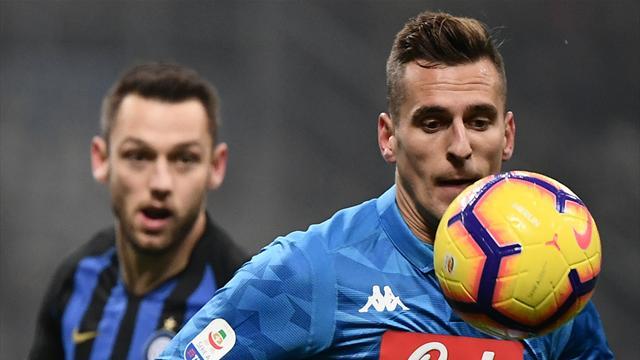 Inter-Napoli in Diretta tv e Live Streaming