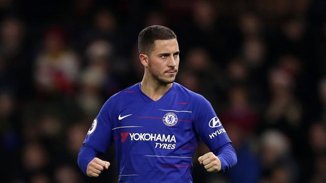 Hazard sur les traces des légendes de Chelsea