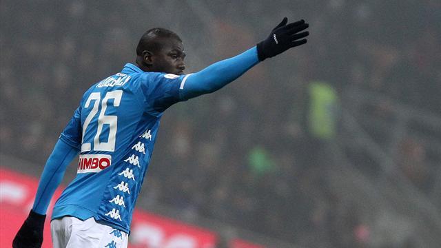 Koulibaly, niente sconto sulla squalifica: respinto il ricorso alla Figc. Salterà Napoli-Lazio