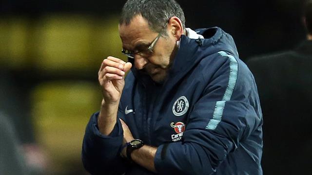 """Sarri: """"Higuain al Chelsea? Dipende dal club, non da me. Fabregas? Meglio che vada via"""""""