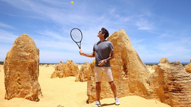 Tennis - Hopman Cup: Federer gagne facilement contre le Britannique Cameron Norrie