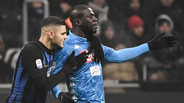 Milan mayor apologises to Koulibaly over racist insults
