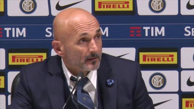 """Spalletti: """"Lautaro Martinez con Icardi? Sì e anche Keita potrebbe giocare di più"""""""