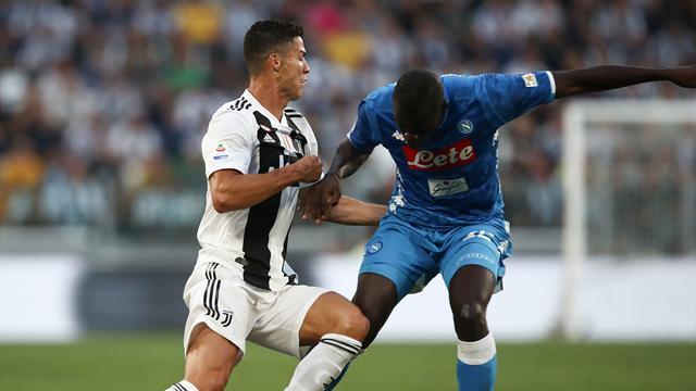 Cristiano defiende a Koulibaly tras los insultos racistas en el Inter-Nápoles