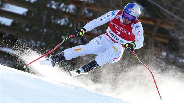 El italiano Dominik Paris se impone en el descenso de Bormio