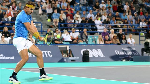 Se expone Nadal — ATP de Brisbane
