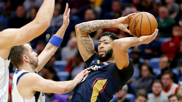 NBA roundup: Davis pours in 48 as Pelicans edge Mavs