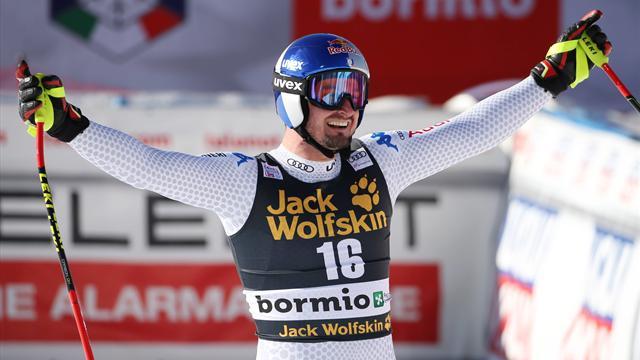 Forza Italia | Dubbelslag Dominik Paris in Bormio