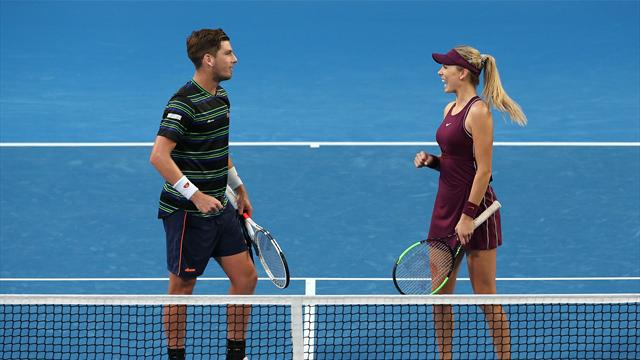Boulter and Norrie open Hopman cup with victory for Great Britain
