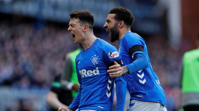 Rangers beat Celtic to go level on points at top of table