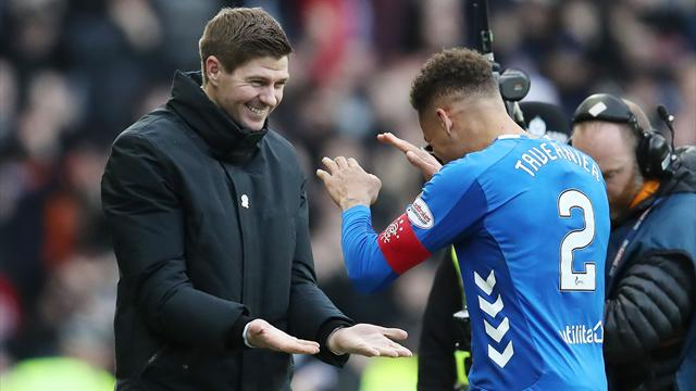 Gerrard: Rangers could have beaten Celtic by more