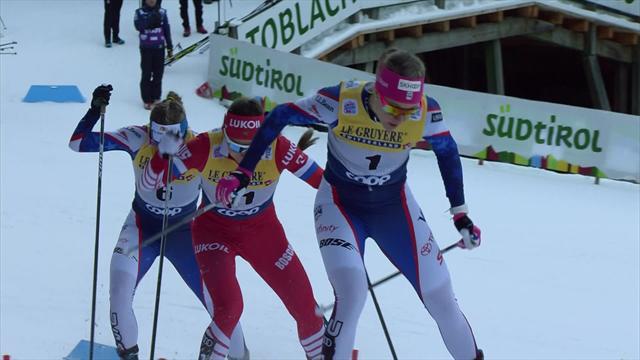 Неуловимая Нильссон удрала к финишу настолько легко, что у соперниц выступили слезы
