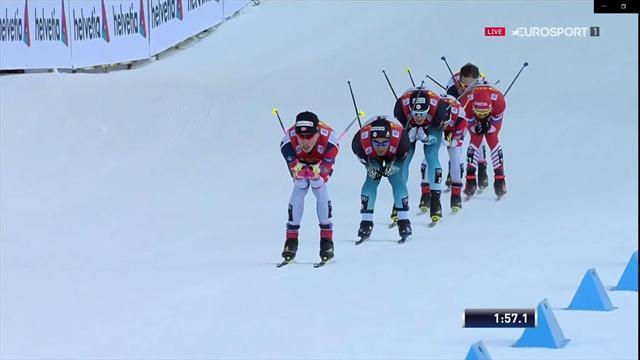 Sprintwinnaar | Klæbo eerste leider in Tour de Ski