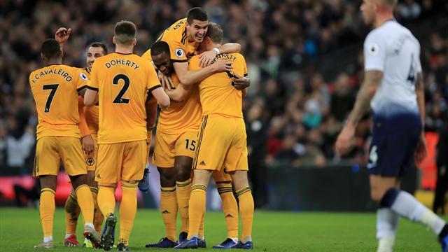 Wolverhampton freine Tottenham, Leicester rechute