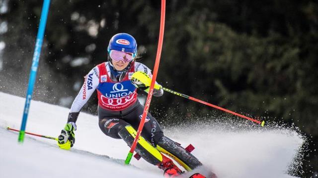 Shiffrin, de 23 años, cierra 2018 como la gran reina del esquí