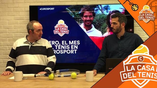 La Casa del Tenis: Nadal, Garbiñe, Federer, Djokovic y más para un enero lleno de tenis en Eurosport