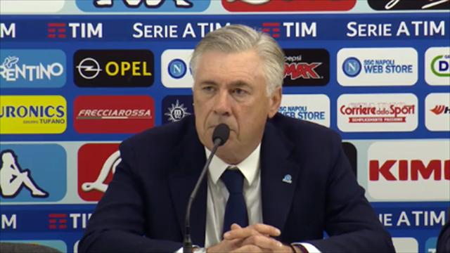"""Ancelotti: """"Inter-Napoli? L'arbitro ha sbagliato a non interrompere la gara come da protocollo UEFA"""""""