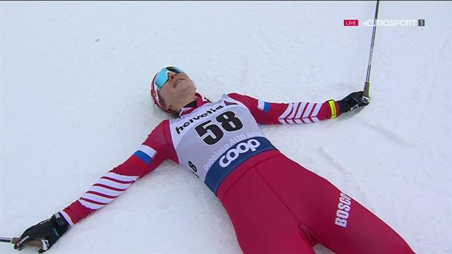 Tour de Ski | Natalia Nepryaeva stunt en wint 10 kilometer