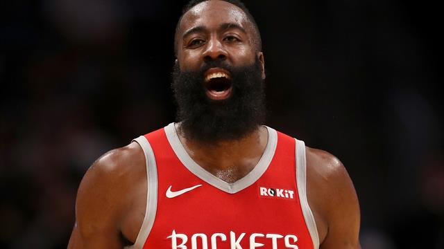 Harden shoots Rockets past Pelicans, 108-104