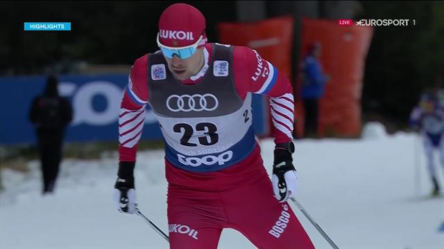 Tour de Ski | Ustiugov snelste op 15 kilometer