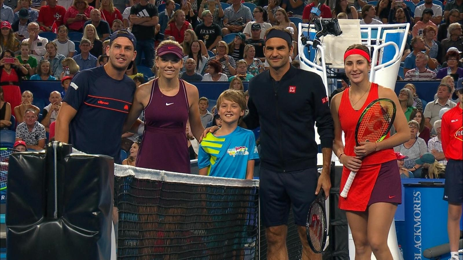 Video Tennis News No Surprise Ball Kid Chooses Roger Federer