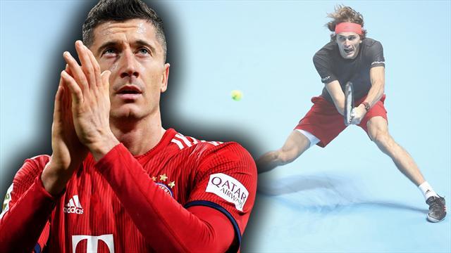 Lewandowski weg, Zverev am Ziel: Europas Sport-Prognosen für 2019