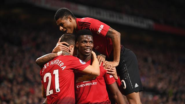 Pogba brace leads United to emphatic win over Bournemouth