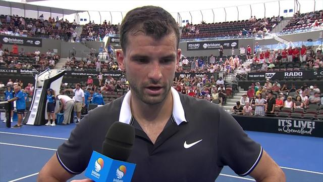 Dimitrov: Things have been a little rough for me