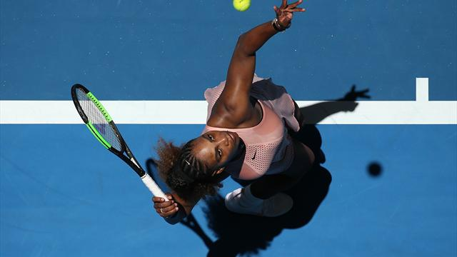 Victory for Serena, but US fall to Greece in Hopman Cup
