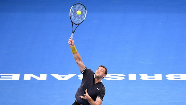 Dimitrov and Raonic off to winning starts in Brisbane