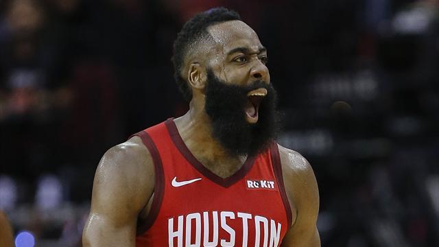 Harden débute 2019 en trombe, Westbrook remet le Thunder à l'endroit