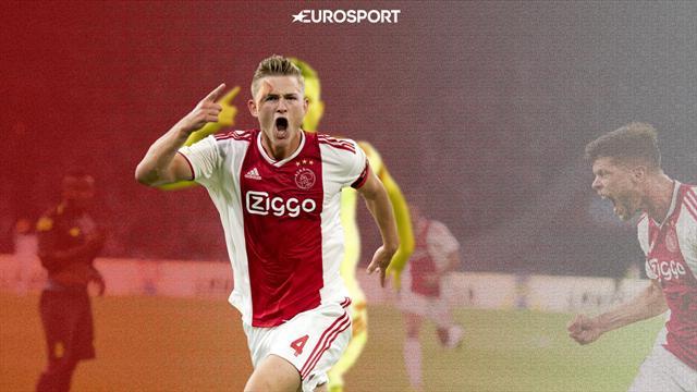 Де Лигт живет с родителями, но скоро побьет трансферный рекорд. Его хотят «Барса», «Юве» и «Бавария»