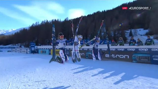 Tour de Ski   Stina Nilsson wint sprint