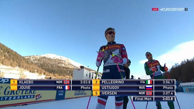 Tour de Ski | Klaebo oppermachtig op de sprint