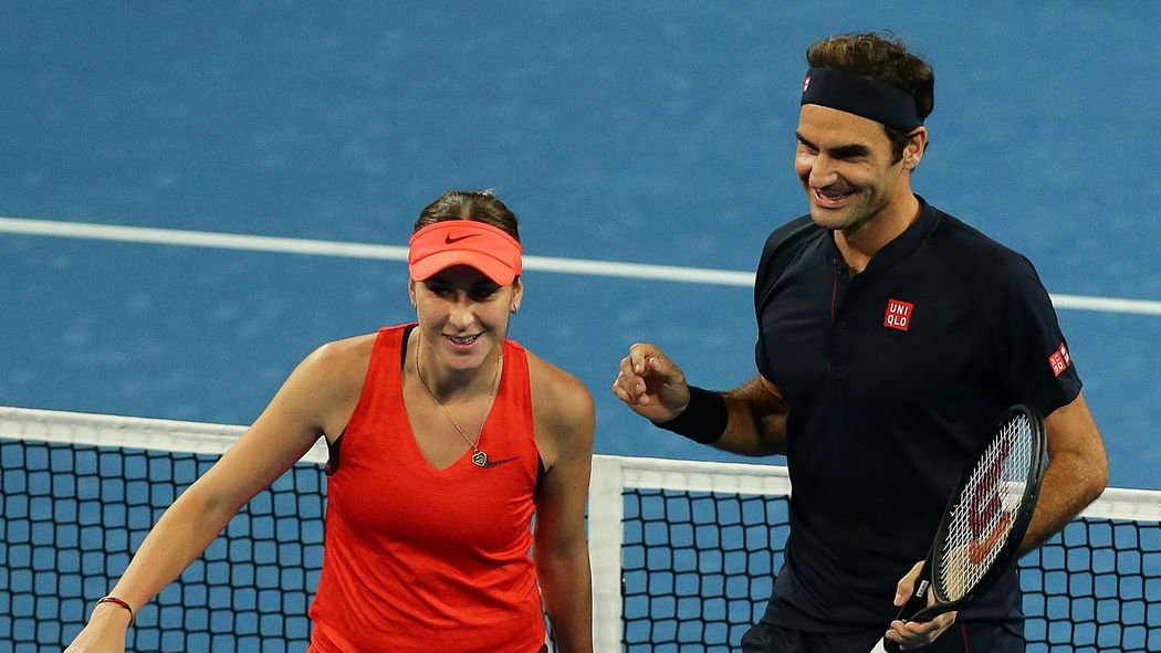 Tennis News Goats Set To Clash As Roger Federer Faces Serena