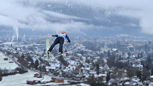 Vierschanzentournee | Kobayashi wint ook Garmish-Partenkirchen