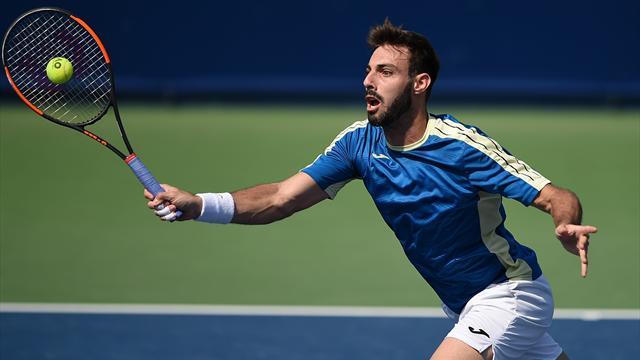 ATP Montpellier: Granollers deja huérfano de españoles el torneo francés al caer ante Shapovalov