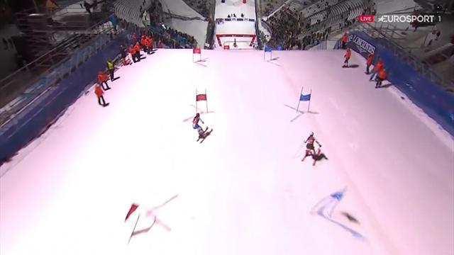 Parallel slalom | Vlhova en Schwarz winnen in Oslo
