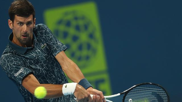 Djokovic se qualifie dans la douleur pour les quarts de finale