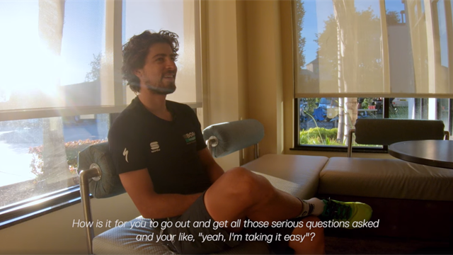 So hat man ihn noch nie gesehen: Sagan gewährt private Einblicke