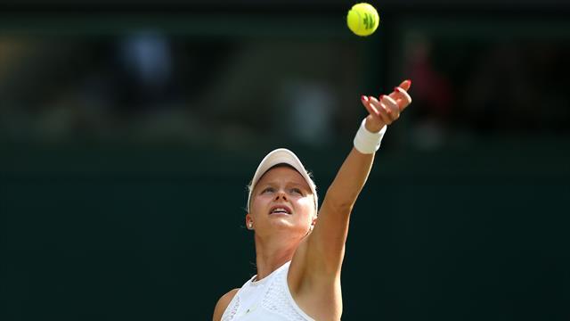 Harriet Dart out of Brisbane after first-round defeat to Anastasija Sevastova