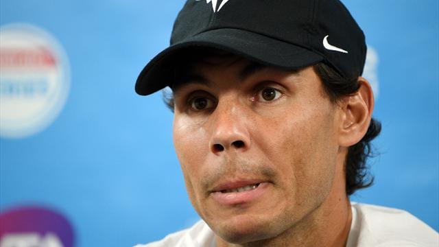 Nadal si ritira da Brisbane per un problema alla coscia sinistra: Australian Open a rischio?