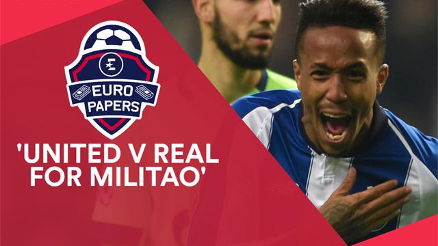 Euro Papers: United v Real for Porto star