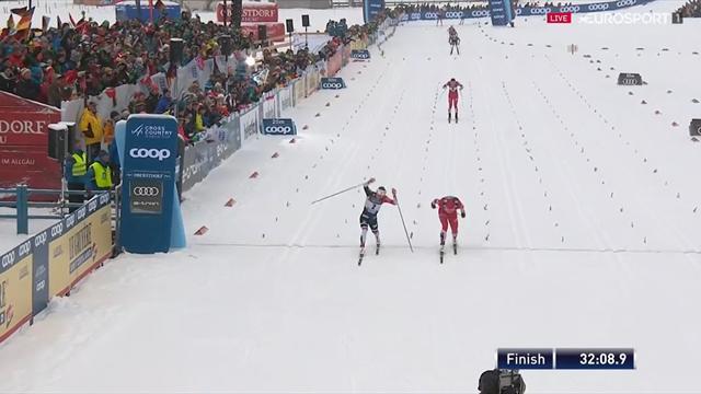 Tour de Ski | Oestberg wint 10km Oberstdorf