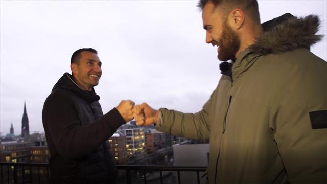 """Wolff im Interview mit Klitschko: """"WM-Halbfinale das Ziel"""""""