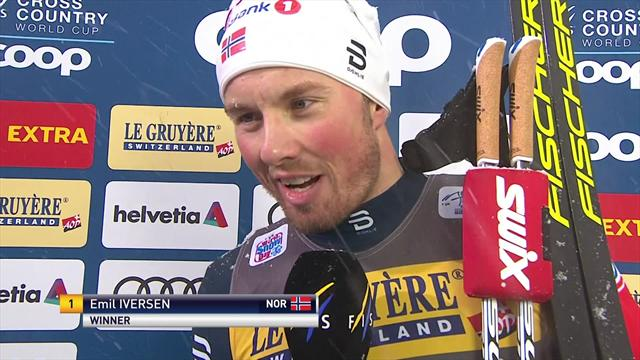 Emil Iversen: It's always nice to be first!