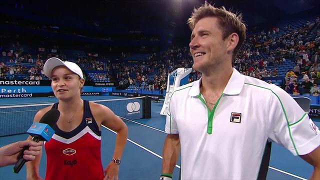 Barty and Ebden: It's all to play for on Friday!