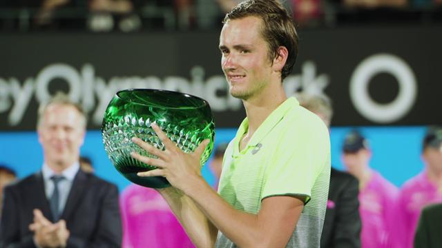 126. ročník ATP Sydney ve znamení mladých pušek