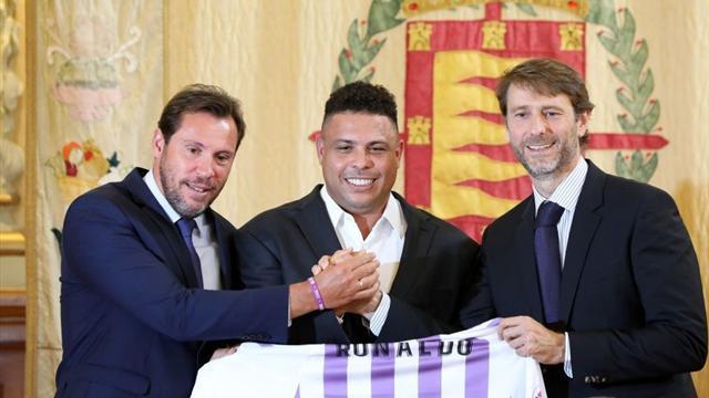 """Ronaldo: """"Io presidente dell'Inter? Non ho i soldi! Che bello vedere CR7 e Ancelotti in Serie A"""""""
