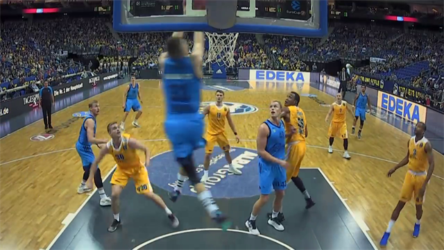 EuroCup: Top 10 Dunks of the Regular Season